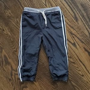 Oshkosh Black Track Pants Size 18-24 Months